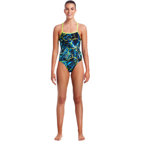 Funkita Strapped In One Piece Badpak Dames bont